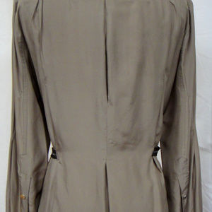 Paola Frani Jackets & Coats - Designer Safari Inspired Jacket Runway Shown Silk